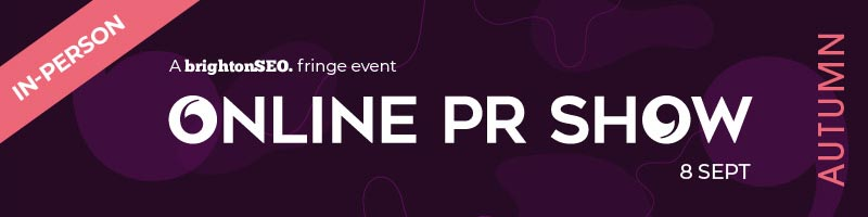 Online PR Show - 8 September 2021 - in-person