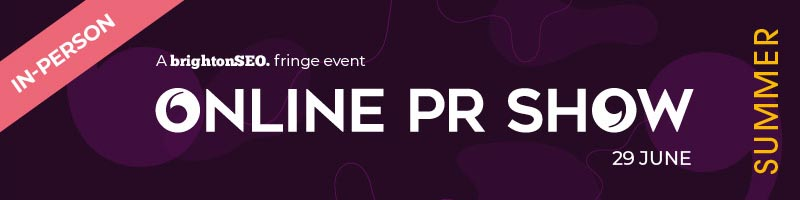 Online PR Show - 29 June 2021 - in-person