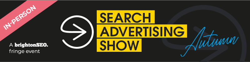 Search Advertising Show 2021 - 8 September - in-person