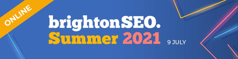 brightonSEO Summer 2021 online 9 July