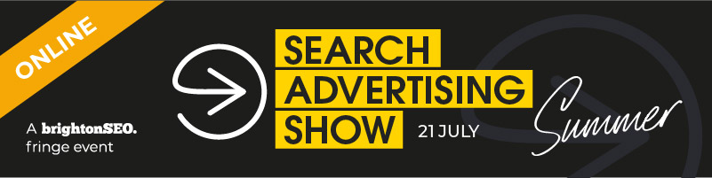 Search Advertising Show 2021 - 21 July - online